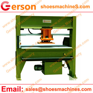 Silicone foam ppen cell sponge die cutting machine in Palm Springs