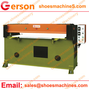 leather pad 40 ton die cutting machine